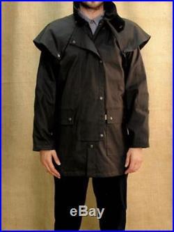 Australian Style Outdoor Öljacke Wachsjacke Workhorse Drover- bis 4XL