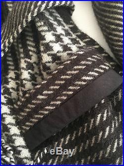 Aventura Taos Women's size M L Pure Wool Indian Western Fringe Coat Jacket USA