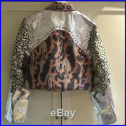 BNWT H&M SS19 CONSCIOUS EXCLUSIVE Short Brocade Jacket S Small SOLD OUT Piñatex