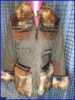 Beautiful Double D Ranch Ranchwear Womens Jacket Size Small Excellent Condition