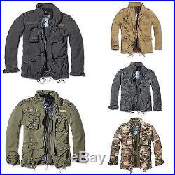 Brandit M65 Giant Feldjacke, Parka US Style Jacke mit Futter Armee Army NEU