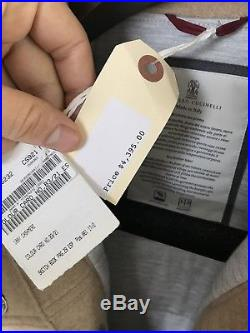Brunello Cucinelli Cashmere Western Jacket 2018 $4,395 M