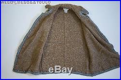 CHANEL ALPACA COAT Vintage Jacket Western Style Aplace Oversized Rare Piece 38