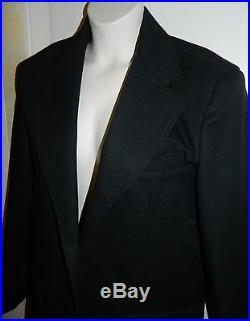 Classic Old West Styles Law Dawg Western Costume Black Sheriff Men's Coat Jacket