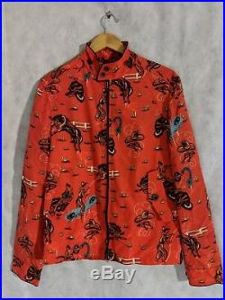 Coach 1941 x Gary Baseman SS17 Western Cowboy Bomber Jacket Sample