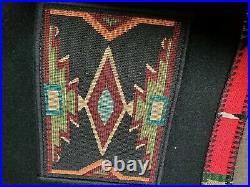 Coloratura Wool Jacket Coat Indian Blanket Western Southwest Cowboy Cowgirl