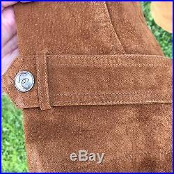 Cripple Creek Brown Whiskey Leather Western Coat Jacket Men's Size L NWOT