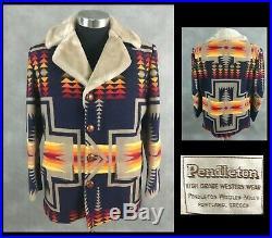 EUC Vintage Pendleton High Grade Western Wear Coat Harding Made in USA Men's 42