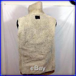 GATEWAY Vtg Lined Barn Coat WESTERN Heavy Suede Leather JACKET 42L 42 L LT L