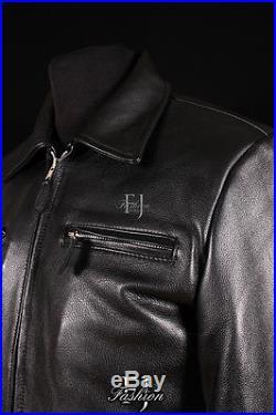 GERMAN LUFTWAFT BLACK (5074) Mens Western Style Real COWHIDE Leather Jacket