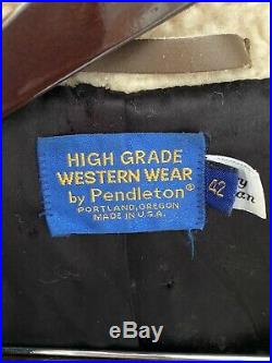 High Grade Western Wear by Pendleton Mens Jacket