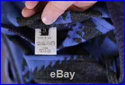 KAPITAL Japan Blue Western Shawl Collar Belted Cotton 3-Btn DB Coat 3/Medium
