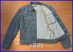 Kapital jeans Japan indigo no. 7 century sashiko westerner, size 44 (fits M/L)