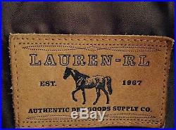 LAUREN RALPH LAUREN SUEDE FRINGED WESTERN JACKET SZ XL NWOT RETAIL $1995.00