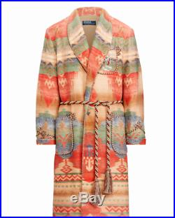 LE Polo Ralph Lauren Southwestern Rodeo Cowboy Colorado Western Robe Jacket Coat