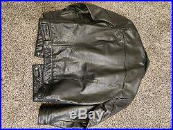 Levi's Genuine Buffalo Leather Trucker Jacket