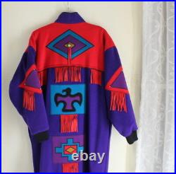 MARYLOU Ozbolt Storer M L XL Western Wool Art-to-Wear Southwest Coat Jacket