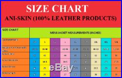 Men Handmade Western Fringes Parchment Trail Leather Shirt Jacket Coat Vest