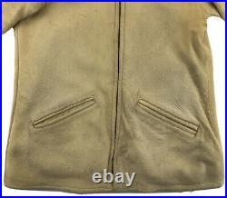 Men's Native American Coat Western Buckskin Jacket Custom Lined Leather Fringe
