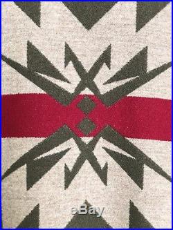 Men's Rare Design Pendleton High Grade Western Wear Indain Blanket Wool Jacket L