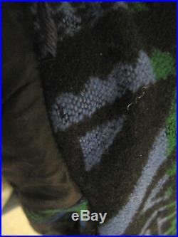 Men's Vtg Pendleton Native American Print Western Wear Zip front Jacket Sz L