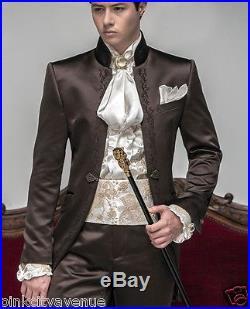 Mens Groom Jacket Trouser Suit Wedding Indo Western Tuxedo Pop Blazer Coat Pant