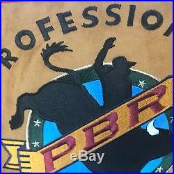 Mens NOS PBR Jacket Pro Bull Riders Bud Light Cup Las Vegas Rodeo Coat w TAGS
