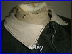 Mens RARE Vintage CARHARTT C70 WESTERN DUSTER Rancher Barn Jacket CAPE COAT Med