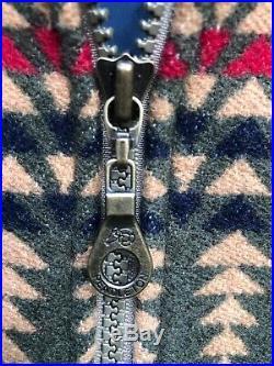 Mens Vintage Pendleton Southwestern Aztec Wool Western Jacket USA Medium Coat M