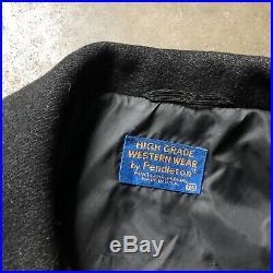 Mens Vintage Pendleton Western Wear Tribal Aztec Blanket Print Heavy Jacket Sz M