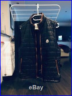 Moncler Herren Stepp Weste Daunen Kapuzen Jacke M Top Mode Fashion M Größe 3