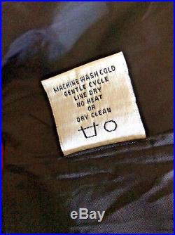 NWT Tasha Polizzi Blanket Western Print Trench Coat Size M Style 161508 Ash