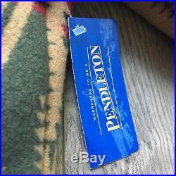 NWT Vintage Pendleton Deadstock Western Wear Wool Blanket Jacket Size Medium
