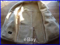 Nordstrom SHEARLING Sheepskin Fur Lined Western Jacket Coat 42 M L