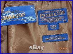 Nwt Pendleton High Grade Western Wear Native American Jacket Large