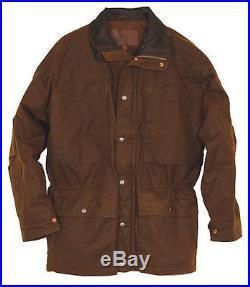 Outback Trading Deer Hunter Western Outback Oilskin Jacket 2180-BRZ