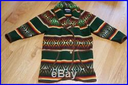 PENDLETON BEAVER STATE WESTERN NAVAJO WOOL COAT JACKET USA women's rare Blanket