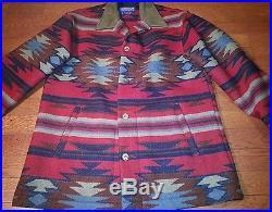 PENDLETON HIGH GRADE WESTERN WEAR Indian Blanket Coat Jacket Southwest SMALL