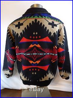 PENDLETON INDIAN BLANKET JACKET COAT HIGH GRADE WESTERN WEAR XL VINTAGE COAT