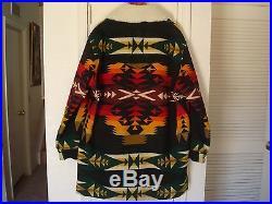 PENDLETON Indian Blanket Coat Jacket High Grade Western Wear Sz XL USA