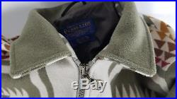 PENDLETON Wool Jacket XL High Grade Western Wear SOUTHWEST Style Free Shipping