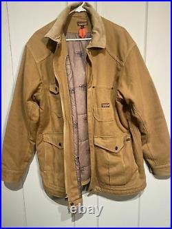 Patagonia Iron Forge Hemp Canvas Barn Chore Coat Brown Mens L Large NWOT $199