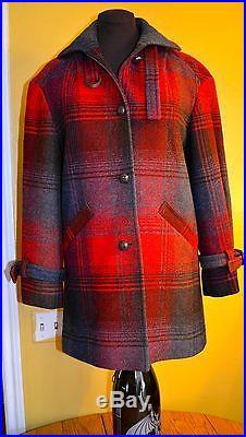 Pendelton pristine vintage white lab JACKET Western Coat Women's size MED