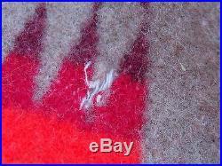 Pendleton Coat Hood Southwest American Indian Blanket Sz M L Western Jacket USA