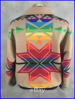 Pendleton High Grade Western Wear Blanket Bomber Jacket USA Men's XL