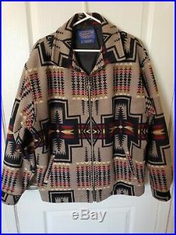 Pendleton High Grade Western Wear Jacket Coat Mens Large L Aztec Native Indian