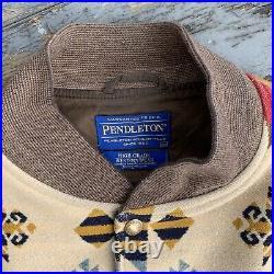 Pendleton High Grade Western Wear Men's Jacket Coat Aztec Size XXL Wool