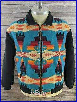 Pendleton High Grade Western Wear Mens Jacket Coat Aztec Indian Blanket Size 3XL