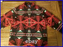 Pendleton High Grade Western Wear Mens Jacket Coat Aztec Indian Tribal LARGE