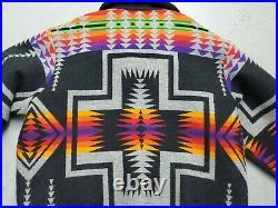 Pendleton High Grade Western Wear Mens Jacket Coat Aztec Indian Tribal Size XL